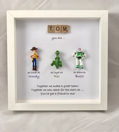 christmas gifts Excited to share this item from my shop: Personalised Toy Story frame - special words for a special person - birthday present - christmas gift- Woody- Buzz- Jessie Toy Story Party, Toy Story Birthday, Diy Birthday, Card Birthday, Birthday Greetings, Happy Birthday, Christmas Birthday, Best Birthday Presents, Birthday Gifts For Men