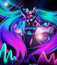 DJ Sona by KatieQuinnCreations on Etsy