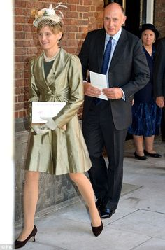 Godparent - Jamie Lowther-Pinkerton and his wife Susannah. He is a former SAS Major who worked as the Duke's private secretary from 2005 until last month, and still works one day a week as the Duke and Duchess's principal private secretary. His son William was a pageboy at the royal wedding in 2011.