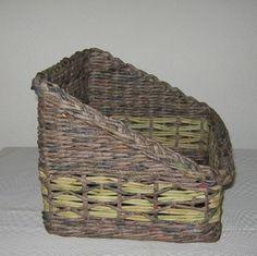 Návody - VZORY PLETENÍ :: Pletení z papíru Hanča Čápule Paper Weaving, Basket Weaving, Wicker Baskets, Kos, Articles, Paper Straws, Braid, Aries, Blackbird