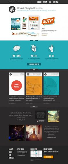 Lift Interactive: Web Design and Web Development - Best website, web design inspiration showcase