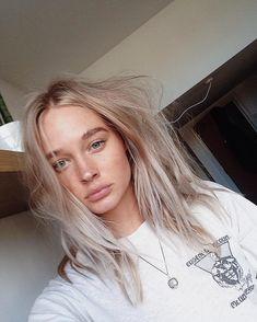 Platinum hair — fresh-models: Riley Hillyer is simply beautiful