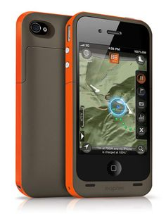 Battery-Life Booster Camping with the iPhone? Use the Mophie Juice Pack Plus Outdoor Edition ($120) for added protection. Your phone (the iPhone 4 or 4S) slips into a 2.5-ounce pack that doubles as a battery, adding about 8 hours of extra talk time or up to 44 hours of music playback.