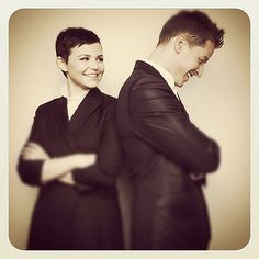 Oh No They Didn't! - Ginnifer Goodwin & Josh Dallas photographed for SAG Foundation