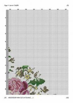 Geri Dönüşüm Projeleri Cross Stitch Rose, Cross Stitch Flowers, Prayer Rug, Bargello, Cross Stitch, Ideas, Paths, Log Projects, Roses