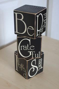 Vinyl Lettering To Make Your Very Own Be Blocks