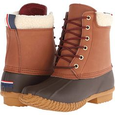 Tommy Hillfigger Duck boots. $99 An affordable alternative to LL Bean boots.