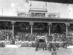 Hipodromo de la Condesa, cercano a 1910.
