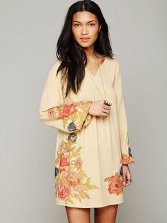 Free People He Loves Me Floral Dress, 198.00