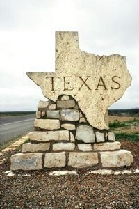TEXAS:  No matter where I live, Texas is always my home!