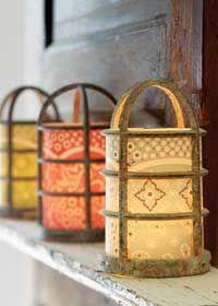 DIY :: Paper lanterns.