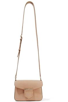 Givenchy - Nobile mini croc-effect glossed-leather shoulder bag 0ca0764a6003d