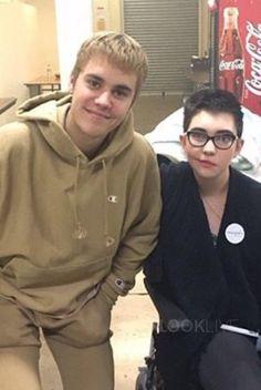 Justin Bieber wearing Urban Outfitters Reverse Weave Hoodie Sweatshirt