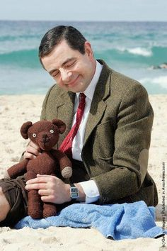 Mr. Bean... Reminds me of times laughing and watching with my brother :)