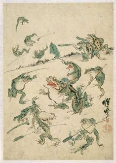 Kawanabe Kyosai (Japanese, 1831-1889). Sketch, 19th century. Ink, paper, Sheet: 17 13/16 x 13 9/16 in. (45.2 x 34.5 cm). Brooklyn Museum, By exchange and Designated Purchase Fund, 37.532