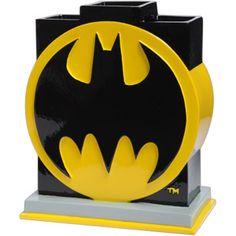 Batman Logo Toothbrush Holder