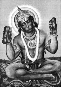 A true saint is he/she who knows is completely dedicated to the love in his/her heart. Hanuman Tattoo, Hanuman Chalisa, Lord Hanuman Wallpapers, Hanuman Images, Tanjore Painting, Monkey King, Epic Art, Gods And Goddesses, Deities
