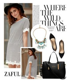 """""""Zaful 34/2"""" by merima-kopic ❤ liked on Polyvore featuring Privé, Nicholas Kirkwood and zaful"""