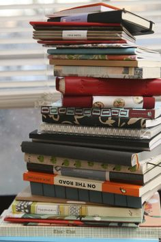 '13 Things to Do With All Those Blank Notebooks...!' (via The Well-Appointed Desk)