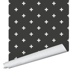 Positive Wallpaper - Traditional / Black / 2' x 8'