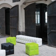 The Bench, designed by Pieter Jamart and manufactured by SixInch is available in 6 various sizes for all types of seating environments such as breakout spaces, receptions and bars. The Bench is constructed using a high density foam core and then sprayed directly with a unique flexible coating.   http://www.apresfurniture.co.uk/the-bench