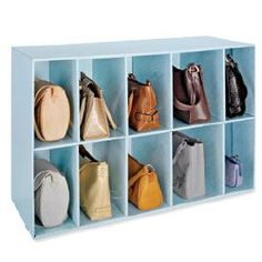 Handbag Storage Demystified