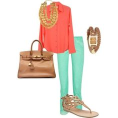 All about opposite/bright colors this spring and summer.  #my-style-pinboard