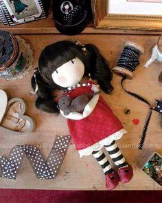 Gorjuss Cloth Doll - Ruby