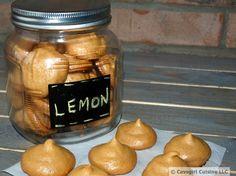 Lemon Meringues...#Paleo #GlutenFree #LemonMeringues #CavegirlCuisine