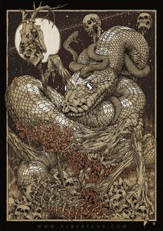 """albertche:  """" Yig (the Father of Serpents)  -Albert C  """""""