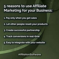 Create your own affiliate network, allow affiliates to promote your products and increase sales with AffiliationSoftware Increase Sales, Growing Your Business, Other People, Affiliate Marketing, Promotion, Create Your Own, Software, Success, Products