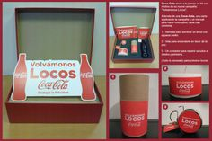 Kit Coca Cola: Vuélvete loco