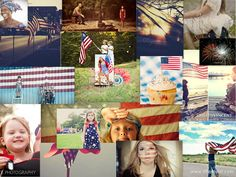Amazing 4th of July Photography Inspiration for Red, White & Blue photos! via iheartfaces.com
