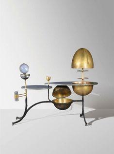 Bar by Claude & Francois Xavier Lalanne 1966 Vintage Furniture, Cool Furniture, Furniture Design, Decoration, Art Decor, Home Decor, Interior Inspiration, Design Inspiration, Design Ideas