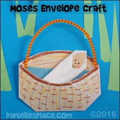 Moses Sunday School Crafts and Activities