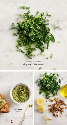 3/5 i love the idea, but the kale stems make a mushy pesto...i wouldnt make it again, but what else to do with kale stems???