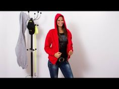 ▶ Sweatshirt with hood, Pulóver zipzárral by Julius K9 - YouTube