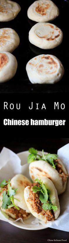 Rou Jia Mo Chinese #Hamburger