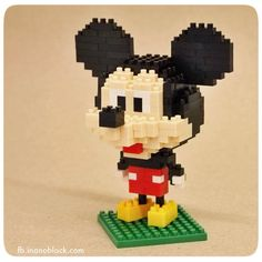 My nanoblock Mickey Mouse =) ...