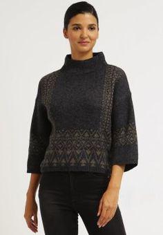 Jersey de punto - dark grey melange - vero moda
