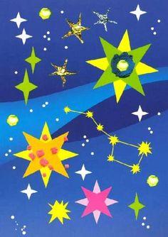 поделки к дню космонавтики из бумаги фото
