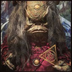 Original Aughra puppet from Dark Crystal at the Center for Puppetry Arts, Atlanta GA. Photo by Tony DiTerlizzi