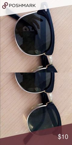 """American Apparel """"Clubmaster"""" Dupes Great, classic sunglasses. Worn a few times! They look a lot like the Rayban Clubmaster. Will take best offer :) American Apparel Accessories Sunglasses"""