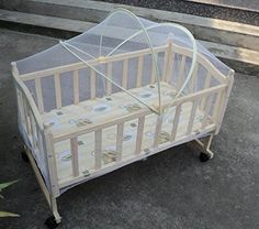 SSBaby cradle universal mosquito net bed arched nets swing special mosquito net baby bed nets  white  12070cm >>> Click on the image for additional details.
