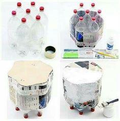 Un banquito reciclable