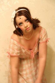 Creepy Doll (makeup and costume) - Imgur