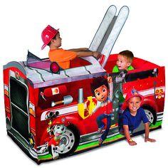 "Nick Jr. Paw Patrol Play Tent - Marshall's Fire Truck - Playhut - Toys ""R"" Us"