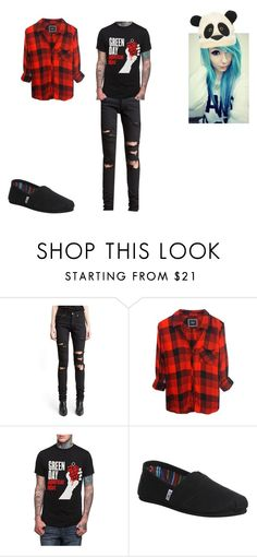 """""""an Alex look :P"""" by infinityfreak13 ❤ liked on Polyvore featuring Yves Saint Laurent, TOMS and Regatta"""