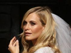 Poppy Delevigne make-up bride