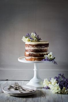 Elderflower, Lemon and Mascarpone Cake | Cygnet Kitchen